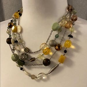 Lia Sophia beaded necklace